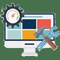 Servicii web de întreţinere (mentenanţă) şi actualizare conţinut site web