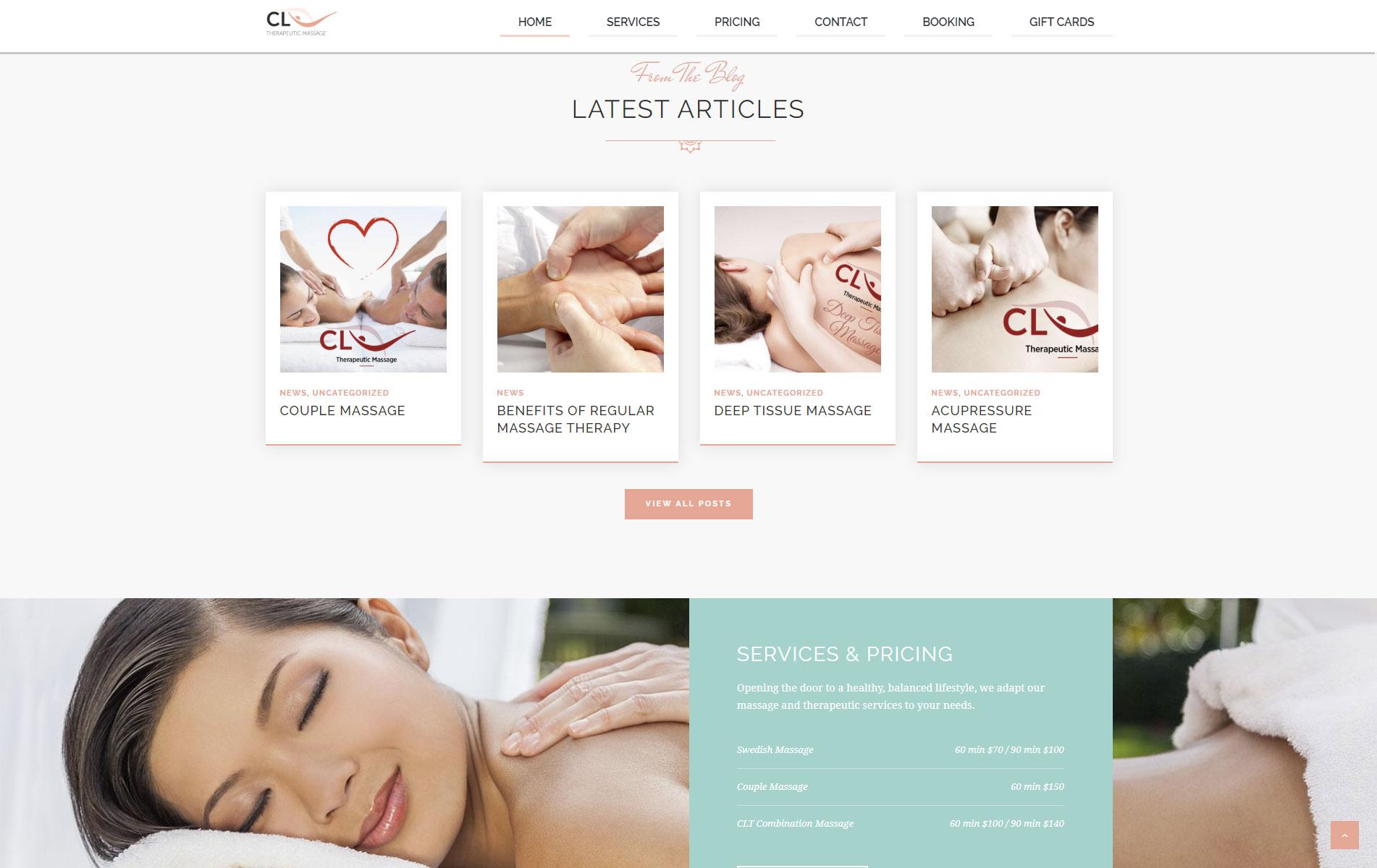 CL Therapeutic Massage